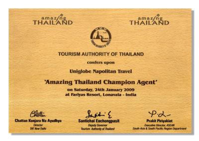 Amazing Thailand Champion Agent