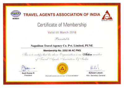 nta-holidays-travel-agent-pune-TAAI-Certificate-2018