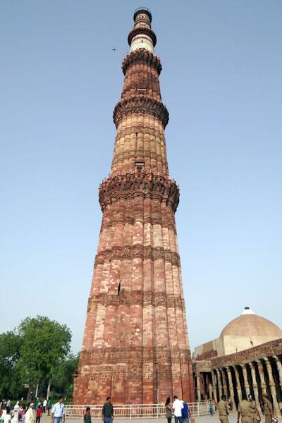 Qutub Minar Golden Triangle Tour Package India Qutub Minar