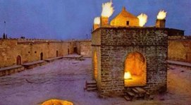 Azerbaijan Tour Packages from India Ateshgah